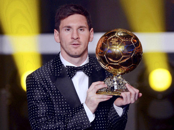 Lionel Messi win 4th FIFA ballon d'Or