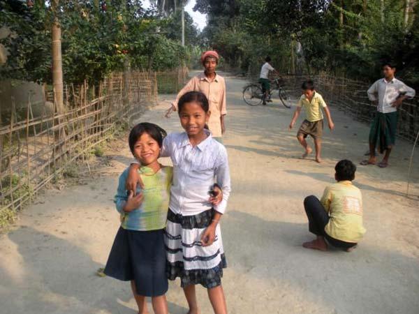 Children in Assam