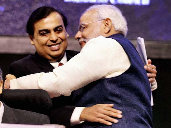 Narendra Modi Mukesh Ambani
