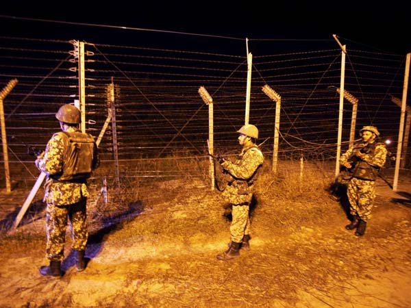 Soldiers Night Petrol