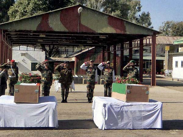 Army Honouring Dead Jawans