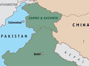 India-Pak map