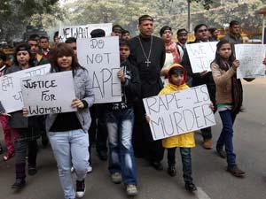 Protest against Rape