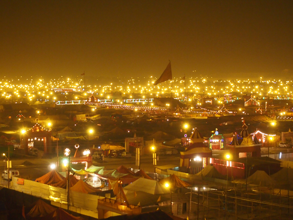 Starry nights at Kumbh Mela