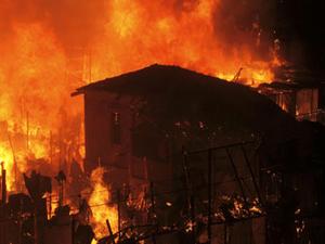 Mumbai Slum Fire