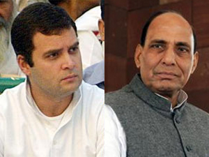 Rahul Gandhi and Rajnath Singh