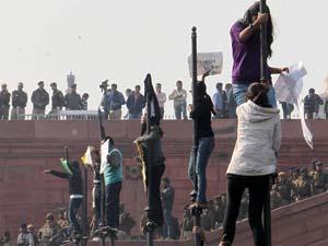 Protest Against Delhi Gangrape