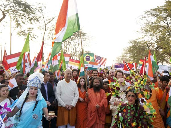 Parade During Kumbh Mela
