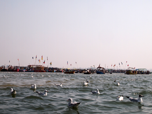 Faith along the banks of Ganga