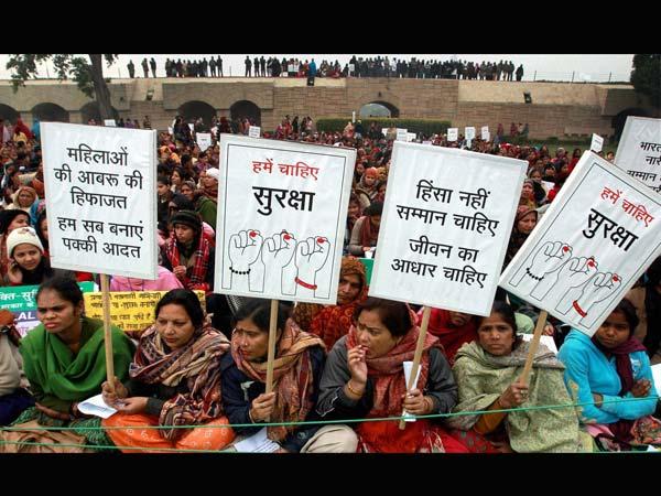 Protest againt Delhi gangrape