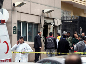Bomb Blast outside US embassy in Turkey
