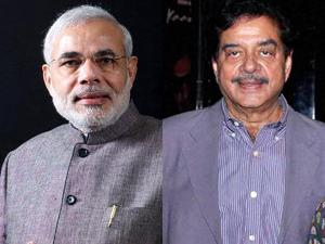 Narendra Modi and Shatrughan Sinha