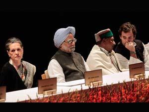 Manmohan, Sonia, Rahul