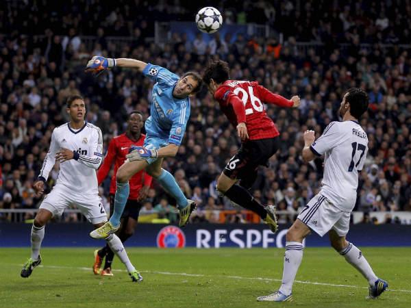 Real Madrid v Man United Highlights
