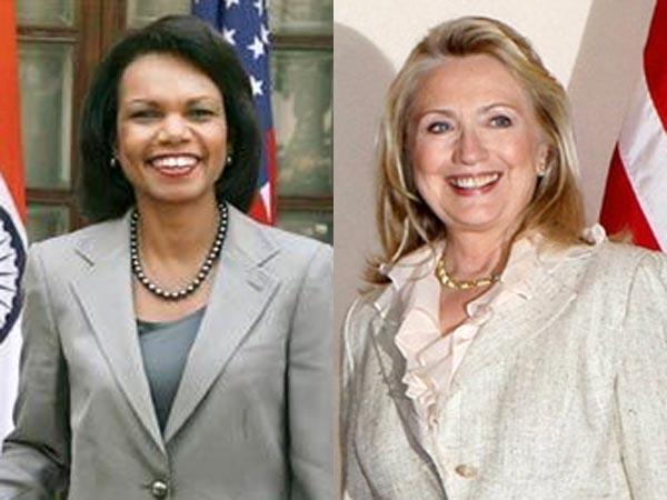 Hillary Clinton Condoleezza Rice Potential Candidates Us