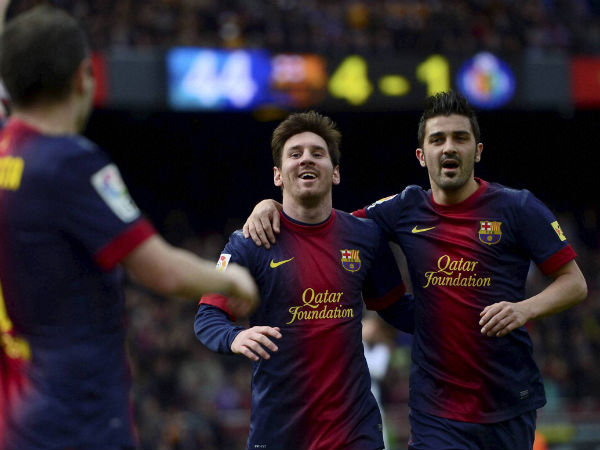 Lionel Messi nets 301st goal for Barca