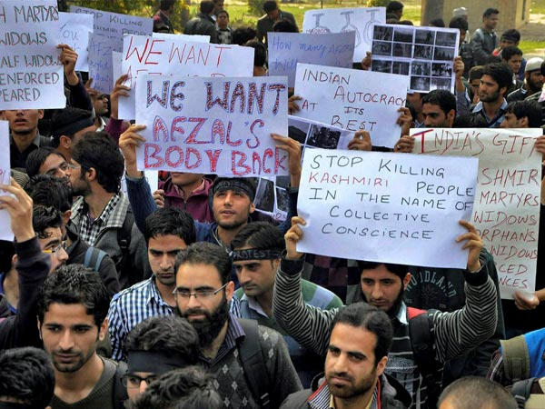 Protest in Jammu and Kashmir
