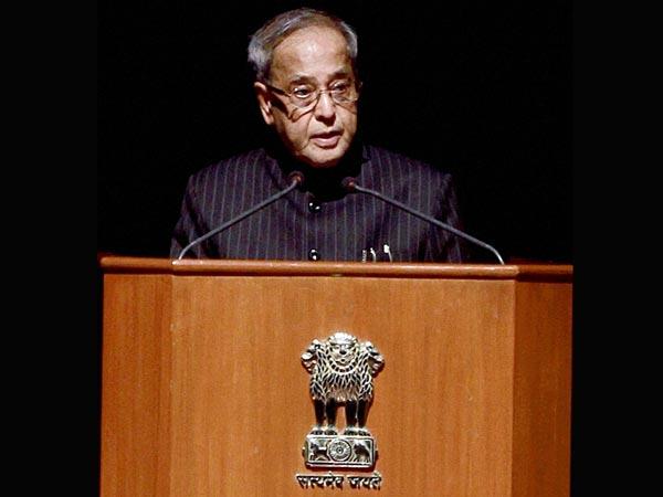 President Pranab Mukherjee