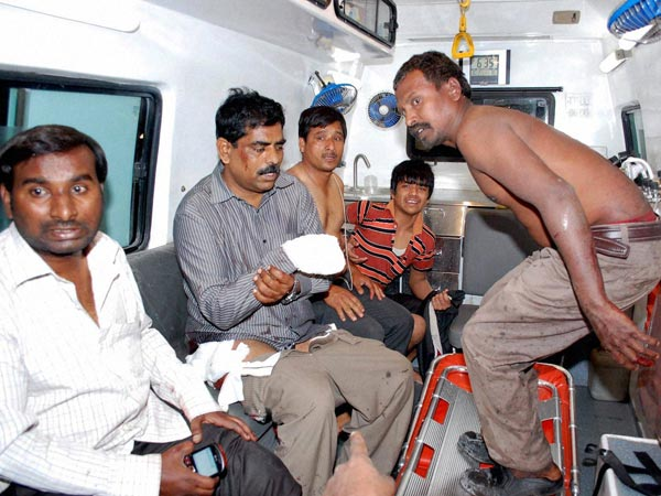 Hyderabad blasts: Injured admitted to Hospital