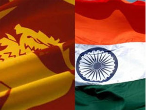 Sri Lanka,India flag