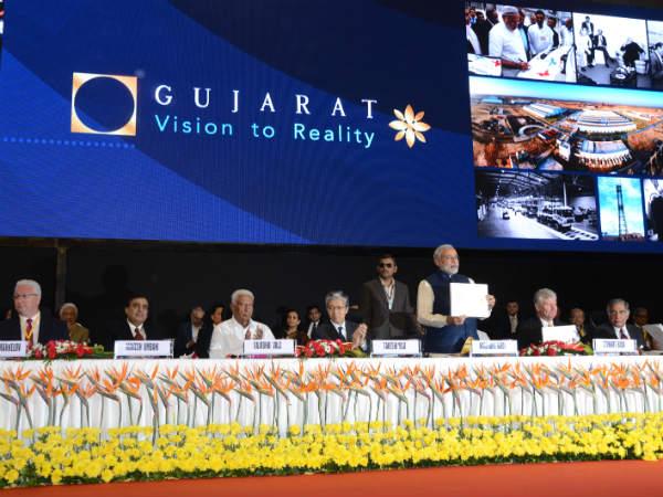 Narendra Modi At Vibrant Gujarat Summit