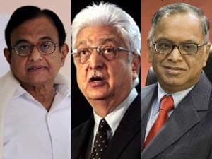 Chidambaram, Premji, Murthy
