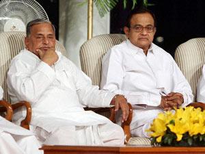 Mulayam with Chidambaram