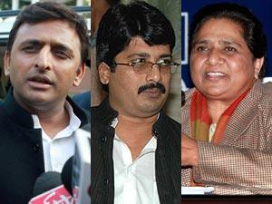Akhilesh Yadav, Raja Bhaiya, Mayawati