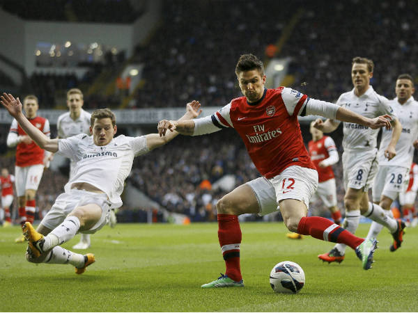 Spurs go seven-points clear of Arsenal