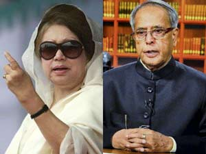 Bangladesh slams Khaleda over Pranab