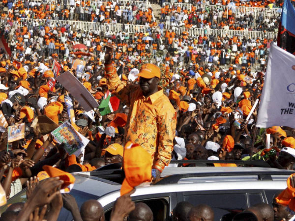 Kenya: Indicted candidate takes lead