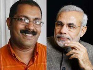 KM Shaji Narendra Modi