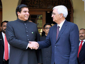 Raja Pervez Ashraf and Salman