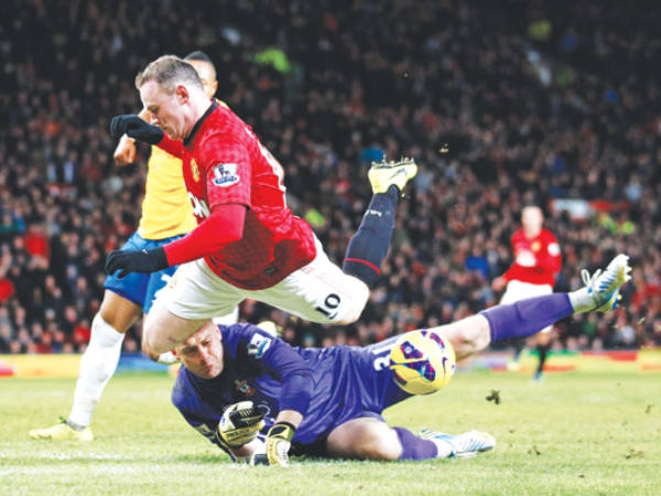'Rooney will stay at Manchester United'