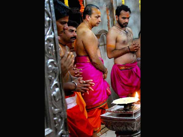 Anil Ambani at Lord Mahakal temple
