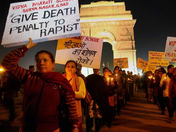 Protests against Delhi Gangrape