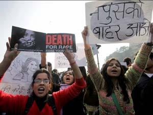 Protests against Delhi Gangrape