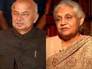 Sushilkumar Shinde and Sheila Dikshit