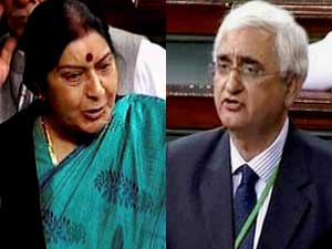 Sushma and Khurshid