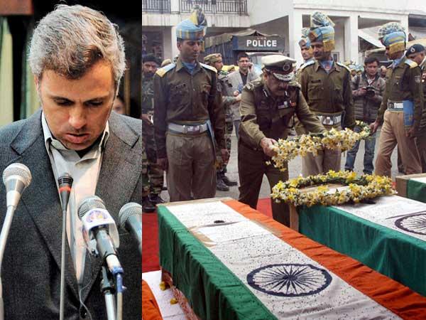 Omar Abdullah Dead CRPF Jawans