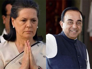 Sonia Gandhi and Subramanian Swamy