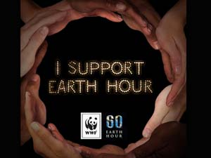 Earth Hour is 2 billion people event
