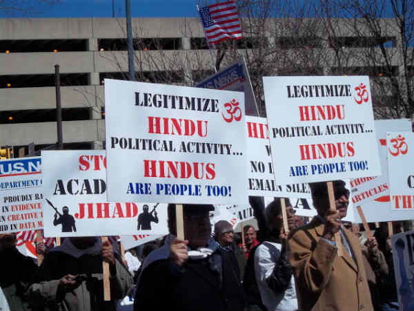 Americans march in support of Narendra Modi
