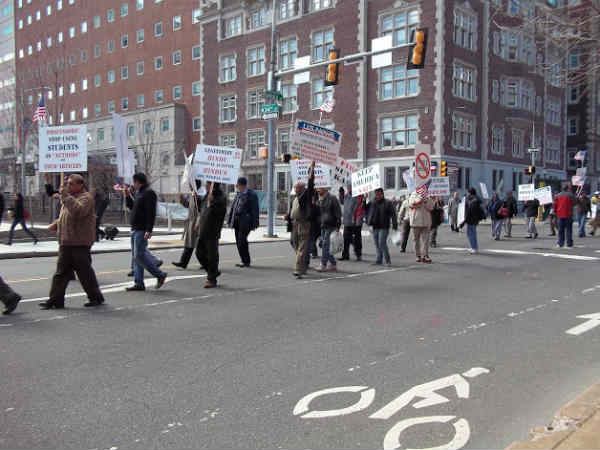 New Yorkers support Narendra Modi against WIEF