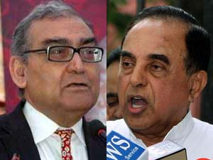 Markandey Katju and Subramanian Swamy