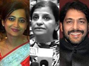Geetika, Anuradha and Kanda