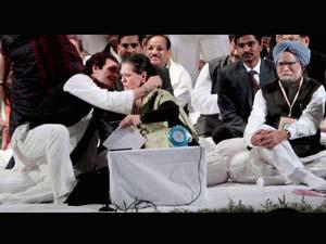 Rahul, Sonia and Manmohan