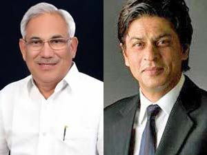 Shahrukh Khan and Deepak Bhardwaj