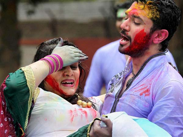 Nation Celebrates Holi