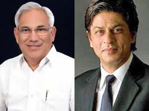 Deepak Bhardwaj and SRK